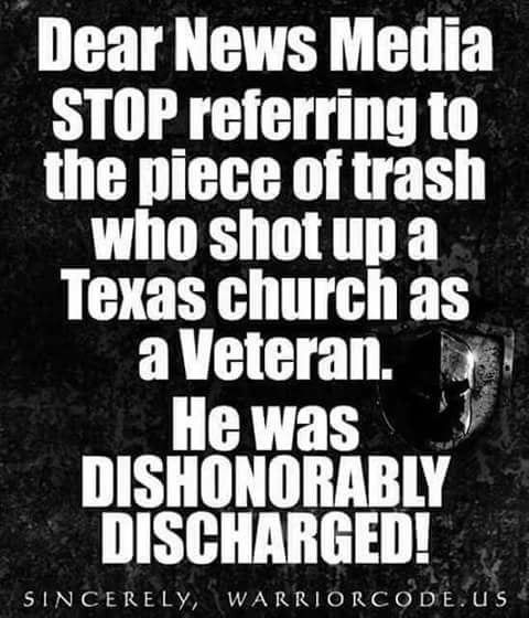Amen to That! I have this discussion all the time about jackasses that get dishonorably discharged!