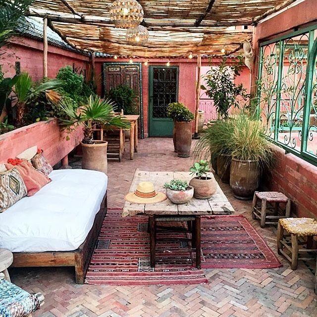 Boho patio // Pinterest: @eleanorkirsty ✨