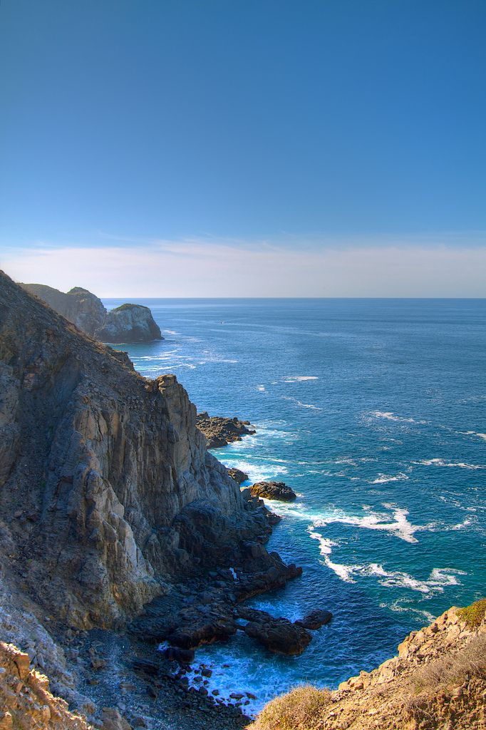 The Pacific coast of Baja California Sur, Mexico, just south of Todos Santos, Mexico.