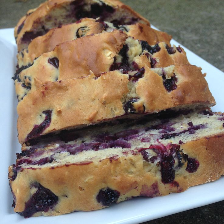 3 point blueberry loaf by drizzle me skinny