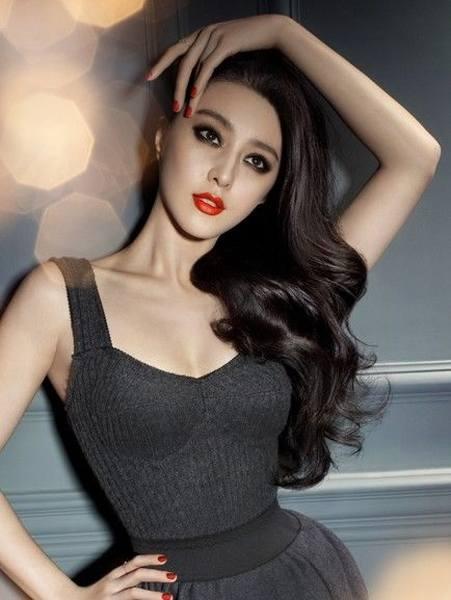 Chinese Star:Bingbing Fan Eyes makeup.