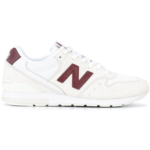 New Balance - lace-up trainers - men - Suede/Polyester/rubber - 11 ($116) ❤ liked on Polyvore featuring men's fashion, men's shoes, men's sneakers, mens lace up shoes, new balance mens shoes and new balance mens sneakers