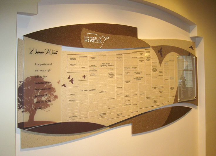 donor recognition walls | Donor Wall Display Systems | Decor ...