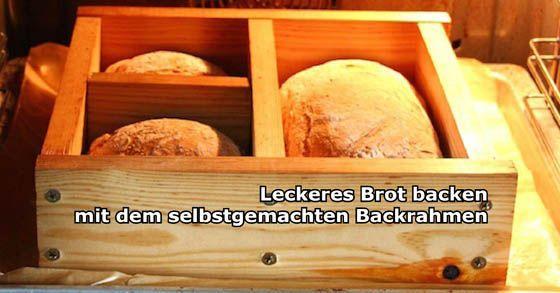 Perfektes Brot backen mit dem selbst gemachten Backrahmen