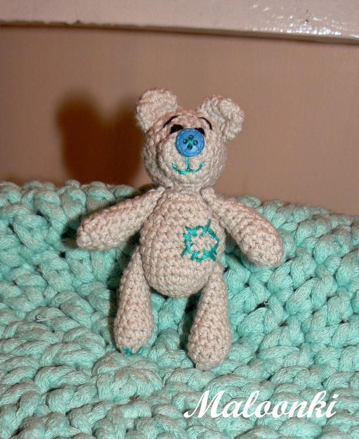 crochet amigurumi teddy bear