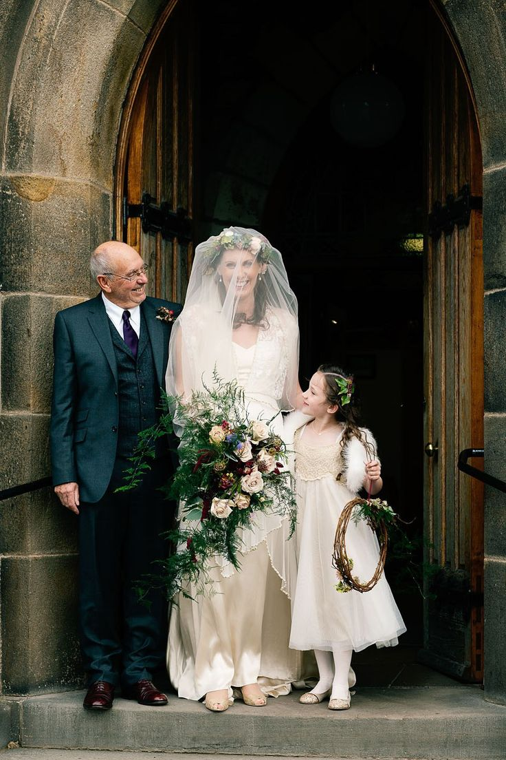 Vintage pearl bridal blog real brides news amp updates wedding - A Catherine Deane Gown For A Locally Sourced And Seasonally Grown Rustic Autumn Farm Wedding