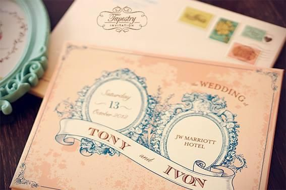 Wedding Invitation by Tapestry Invitation at Bridestory.com  #wedding #wedding-ideas #wedding-inspiration #wedding-invitation #bridestory