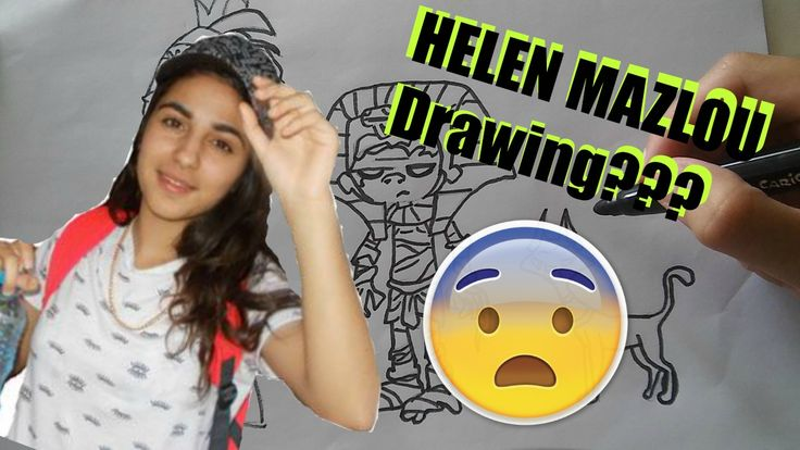 In Youtube Helen Mazlou Drawing