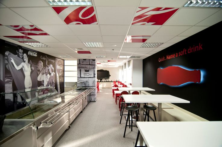 COCA-COLA Hellenic Office restaurant, designed by Stirixis Group