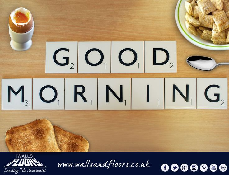 Good Morning Scrabblers Say It With Scrabble Scrabble