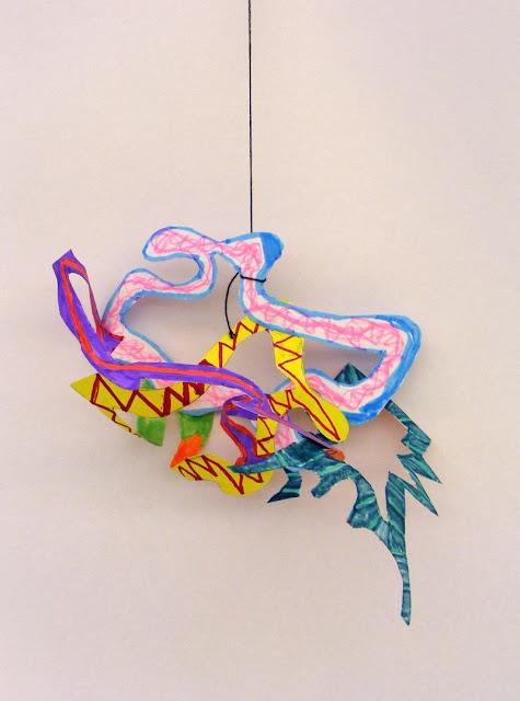 Frank Stella Paper Mobiles  Field Elementary Art Blog!