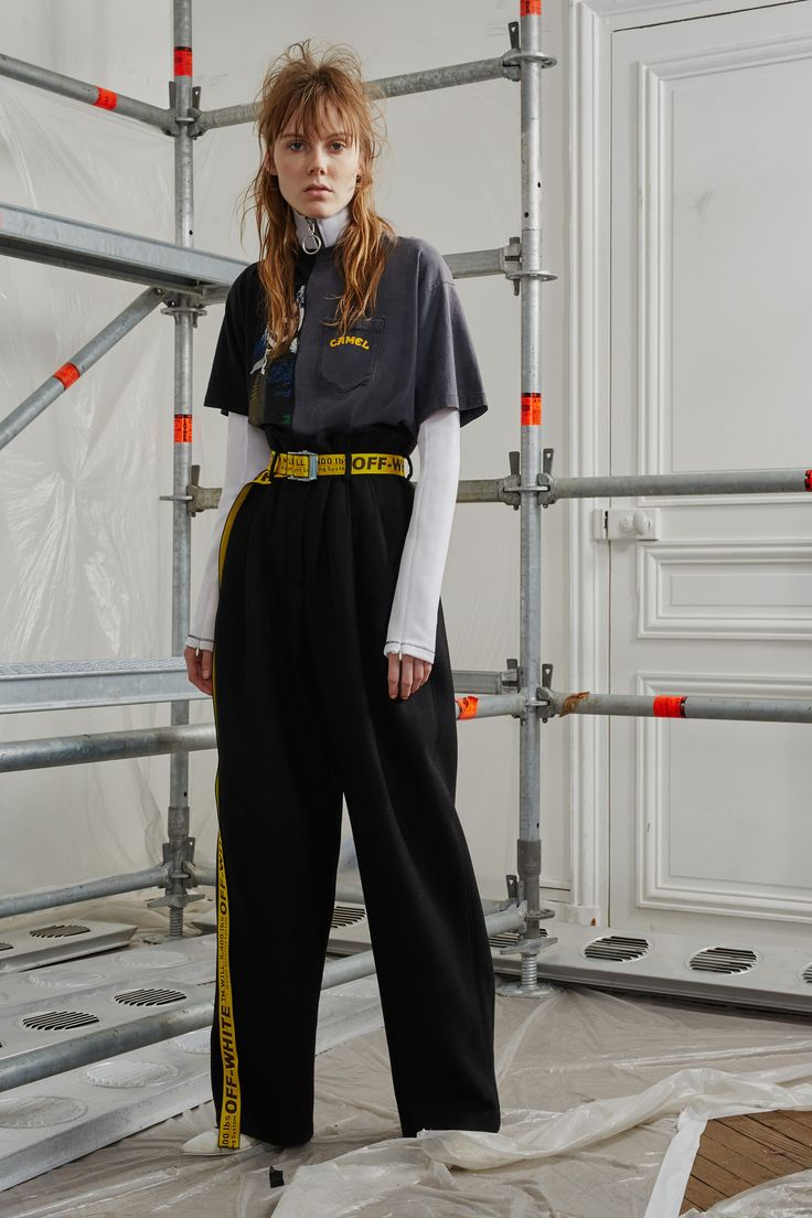 Off-White Pre-Fall 2016 Fashion Show