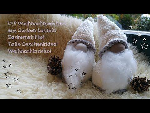 DIY Schwedische Weihnachtswichtel || Sockenwichtel basteln || Nikolaus - YouTube