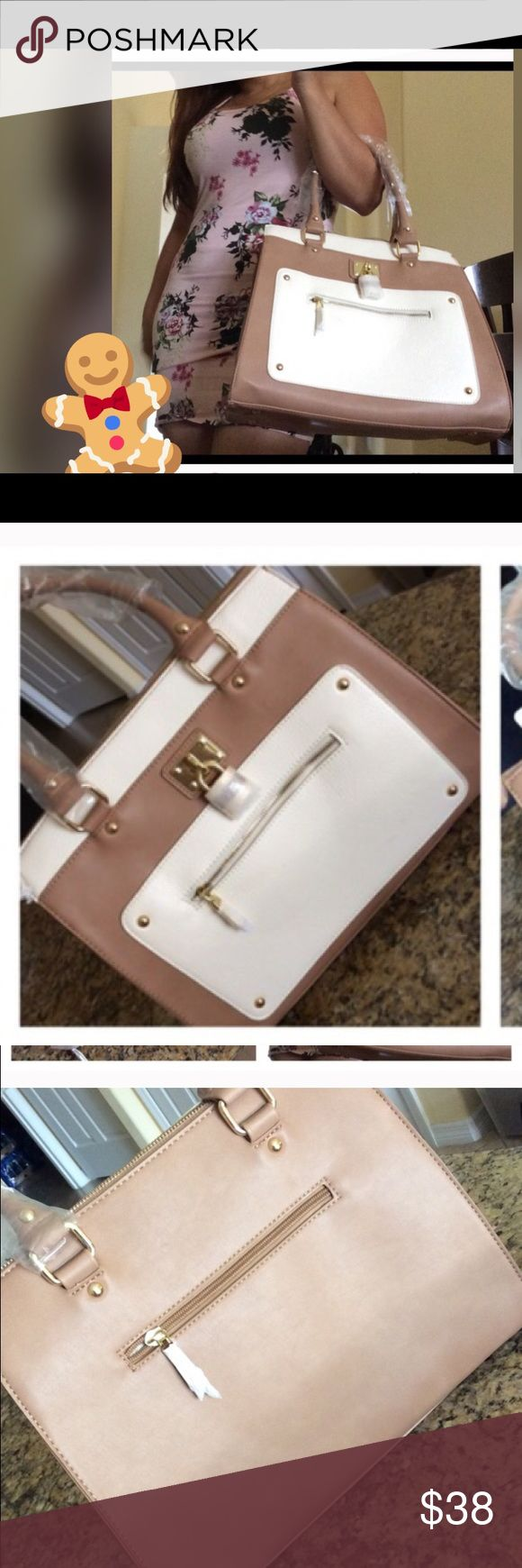 Neutral purse for sale price is firm ‼️ New with tags super roomy vegan leather  Charming Charlie Bags Shoulder Bags