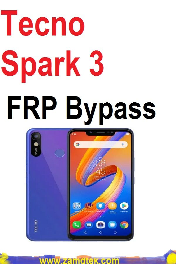 Tecno Spark 3 google account FRP Bypass, this is the best