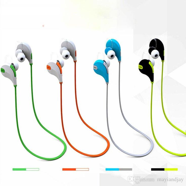 Best Noise Cancelling Headphones Qy7 Wireless Bluetooth 4.1 Stereo Headphone Headset Earphone Sport Running Earphones For Iphone 5s/6/6plus Samsung Galaxy S6/S6 Edge Headphone Jack From Mayiandjay, $12.33