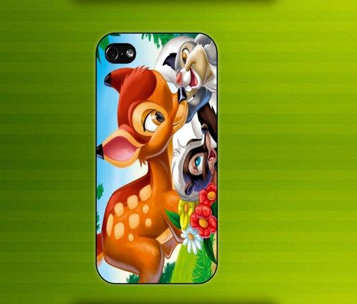 BAMBI CARTOON case for iPhone 4/4S iPhone 5 Galaxy S2/S3 #iPhonecase #iPhoneCover #3DiPhonecase #3Dcase #S4 #s5 #S5case