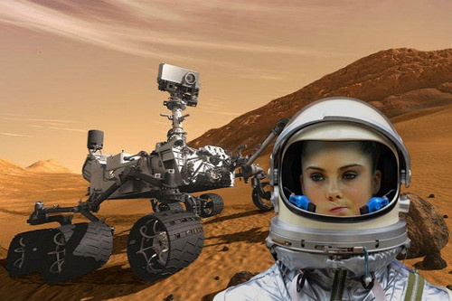 McKayla Maroney is not impressed with the Mars landing.