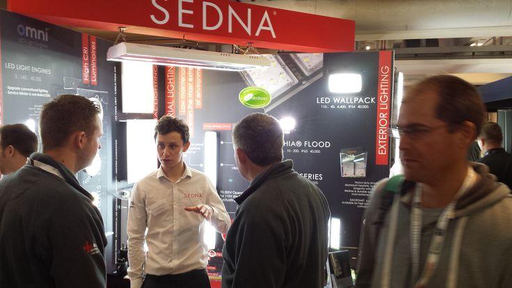 #SednaLighting enjoyed exhibiting @Elexshow last week in London!