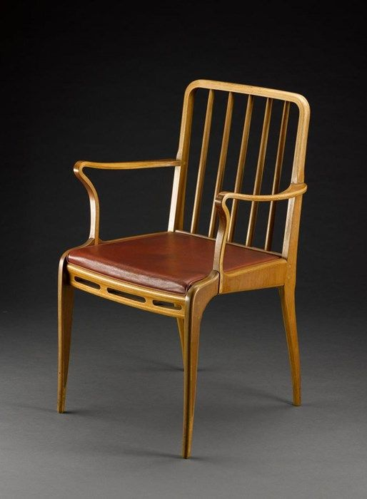 Chair from an Allegro dining suite, designed by Basil Spence for H. Morris & Co, Glasgow, 1949.