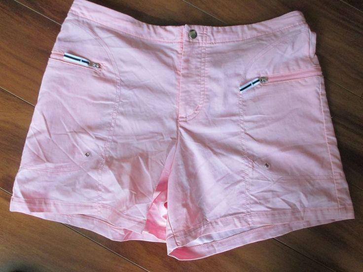 Nike women's pink shorts with drawstring size S (4-6) #Nike #Shorts