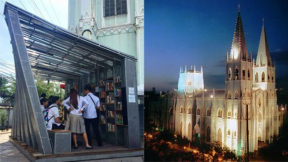 The Book Stop Goes To San Sebastian Church, Quiapo | What's New | spot.ph
