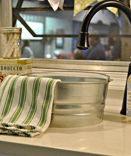 1000 Ideas About Bucket Sink On Pinterest Sinks Barrel