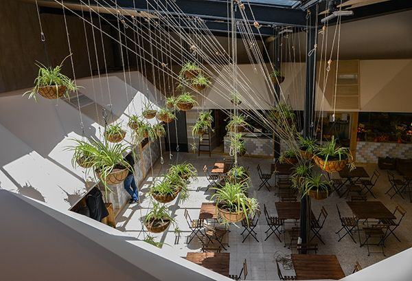 El Huerto de Lucas: sustainable design and organic food for this new market in Madrid by More&Co.