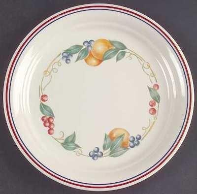 Corelle Plate Abundance Pattern