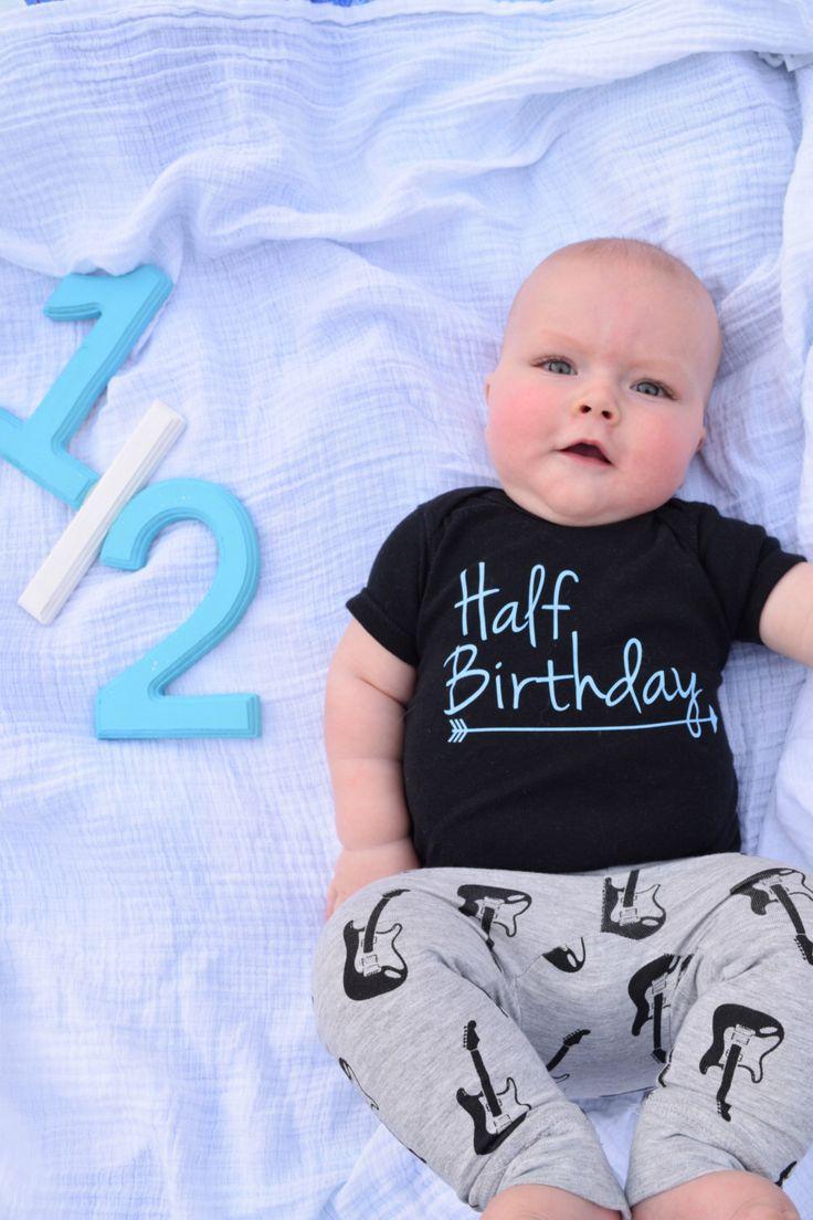 Half Birthday Shirt/Half Birthday Tee/Half Birthday Shirts