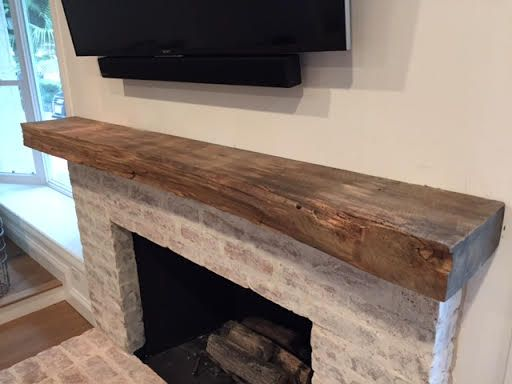 10 Best Images About Rustic Wood Mantels On Pinterest Rustic Fireplace Mantels Stains And The