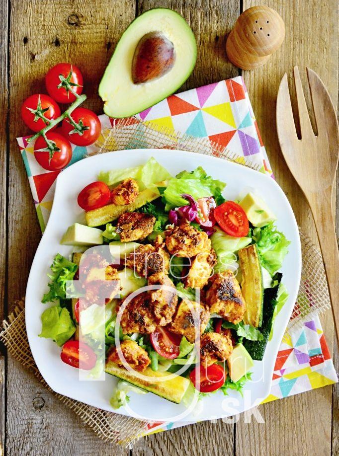 Tandoori kuřecí salát