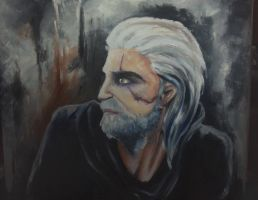 The Witcher by martystka