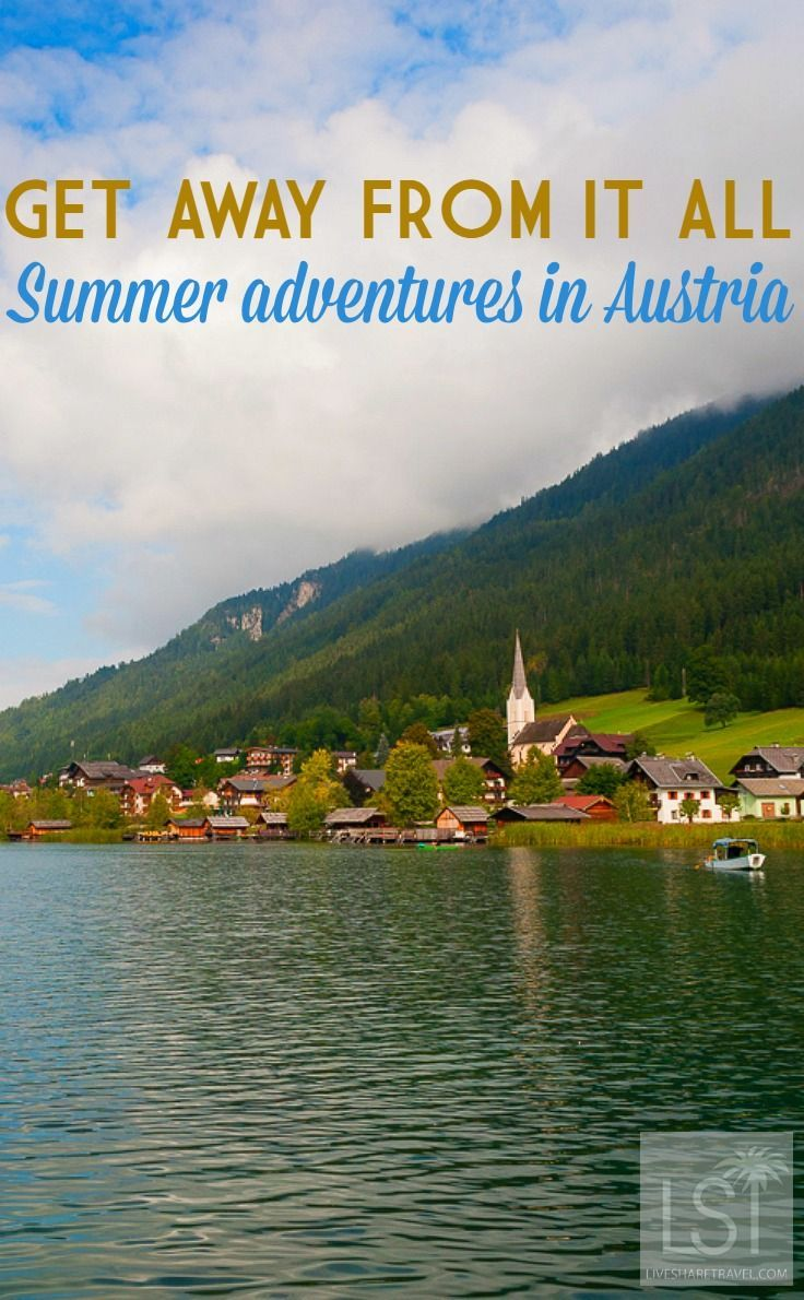 Whatever the weather in Austria, whatever the season, there's always a landscape that makes you revel in the beauty of the world. Lake Weissensee is one such place with its gleaming and inviting waters. Discover the beauty of a lakeside summer in Austria.