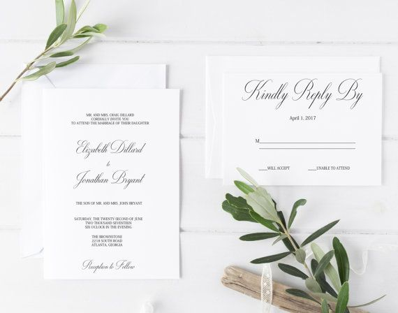 Formal Wedding Invitation Templates: 25+ Best Ideas About Formal Invitations On Pinterest