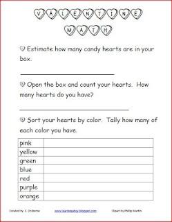 Valentine's Day Math!