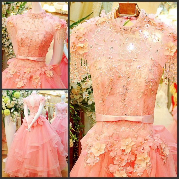 Jual Gaun PEngantin Murah Code ~ SLV20  Price ~ Rp 5.350.000,- **Promo Rp 2.850.000,-  Size ~ S, M, L, XL  Colour ~ Blue, White, Bare Pink