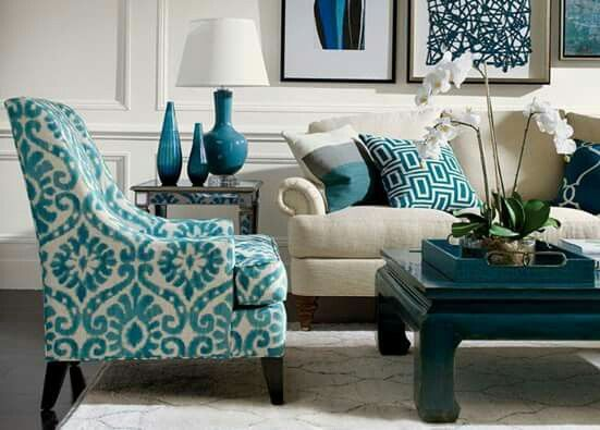 ea emerson chair and dynasty coffee table in aged teal