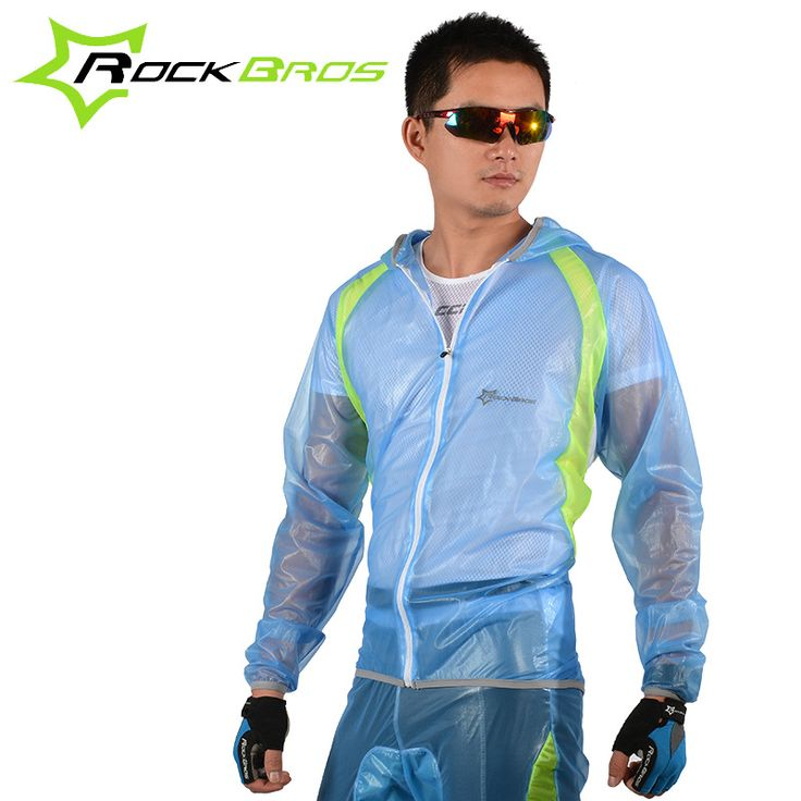 ROCKBROS UV Protection Cycling Raincoat Set Equipacion Waterproof Long Rain Jacket Men Rain Bike Team Rain Cover Sets