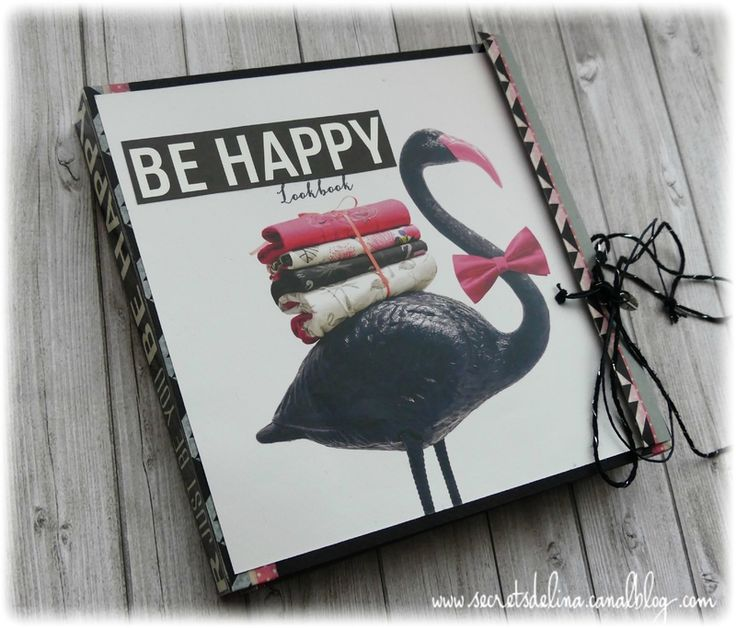 Flipbook flamingo be happy pink black flamand rose #secretsdelina