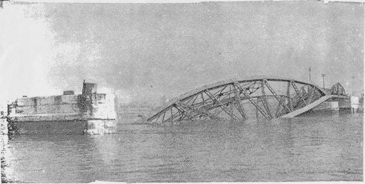Barreiro Antigo - Destruição da Ponte Barreiro Seixal