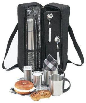 Coco, Coffee Tote for Two - contemporary - food containers and storage - Elegant Picnic