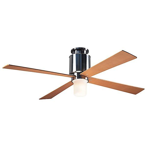 Modern Fan Company Lapa Flushmount Light Ceiling Fan Lap Fm Bn