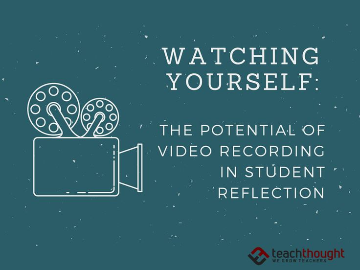 Watching Yourself: The Potential Of Video Recording In Student Reflection contributed by Jesse Johnson A basic truth: It's impossible to reflect on what's happening if you don't know what's happening. In my freshman composition courses, I had regular one-on-one meetings with students throughout the term, scheduled at crucial points during writing projects. Well before the …