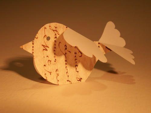 Paper bird tutorial