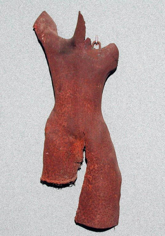Luigi Varoli/Figura/ferro/h 50 cm