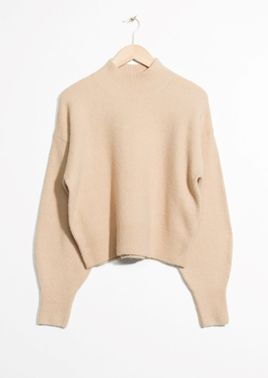 &Other Stories Mock Neck Sweater  http://rstyle.me/n/cutgpkv7iw