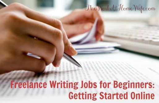Freelance Writing Jobs for Beginners Getting Started Online