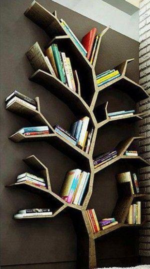 Leuk idee voor je boeken.. boven je bureau