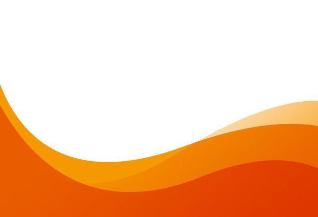 Geometric Curve Wavy Orange Background Material Orange Background Background Design Vector Background Design
